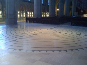 Grace Cathedral Labyrinth, SF