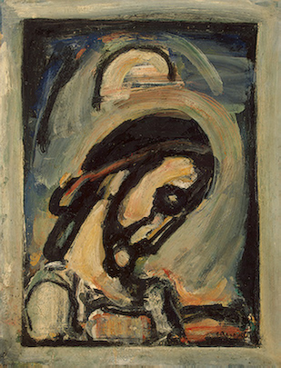 Rouault Head of Christ.